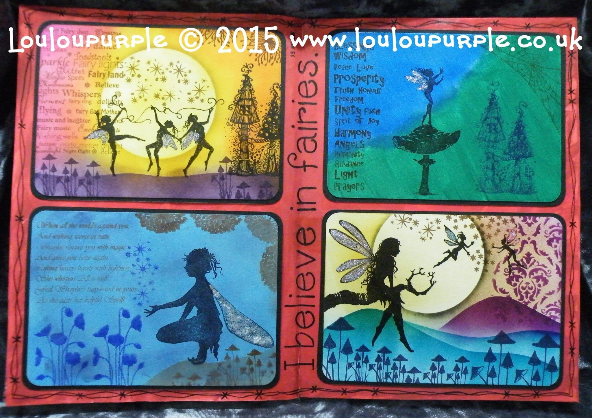 Mixed Media, Art Journaling, Lavinia Stamps, Fairies.