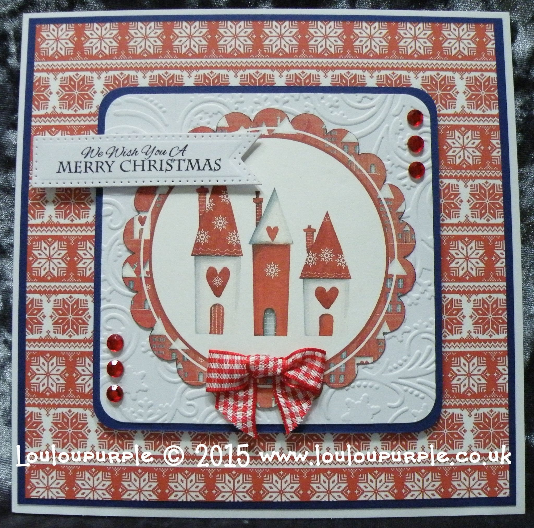 How To Make A Christmas Card Using Your Free CD From Crafter's Companion, Crafter's Inspiration Magazine. Issue 8 Winter.