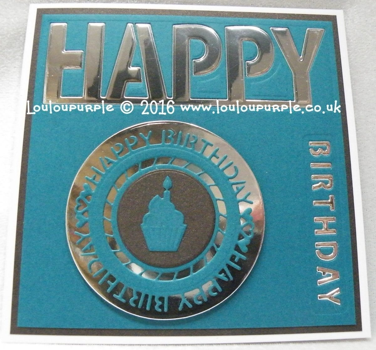 How to make a male Happy Birthday card using Sue Wilson Dies. CED8301 & CED8303