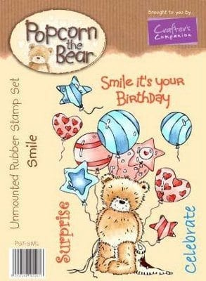30% off all Popcorn Rubber Stamps.