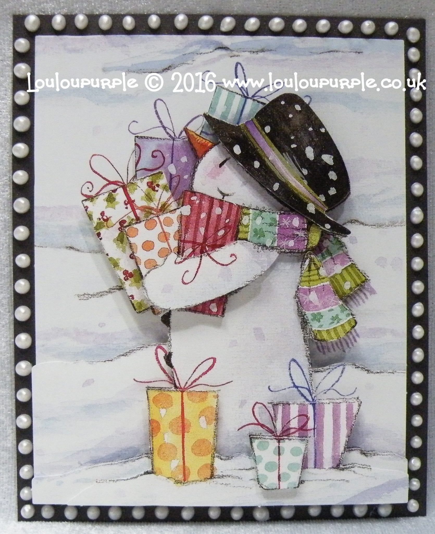 Mixed Media Christmas decoupage ideas.