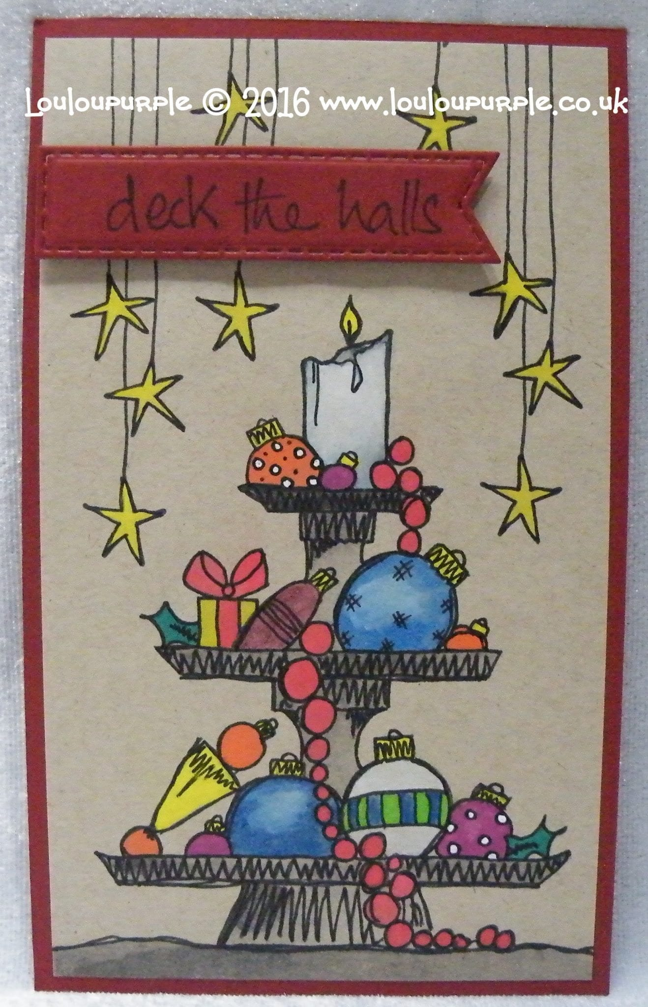 Christmas Ideas Using PaperArtsy Christmas Stamps.