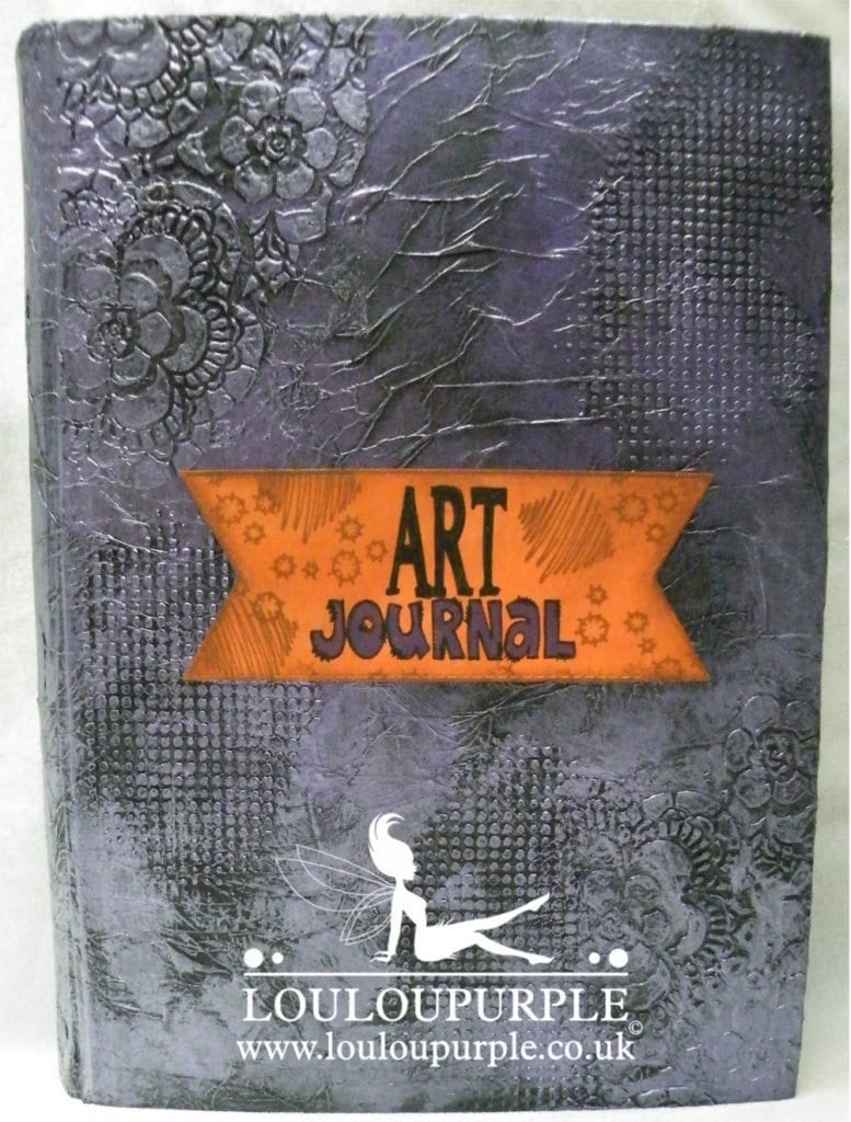 How I Made My Art Journal Cover.