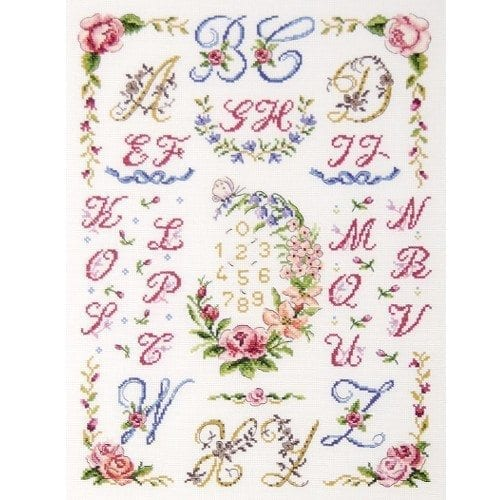 Flowers Cross Stitch, Embroidery & Tapestry