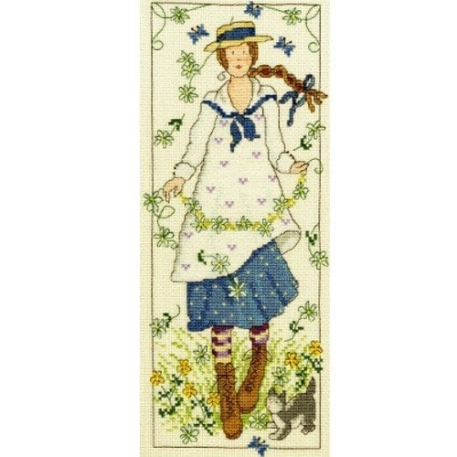 Country & Garden Lass Cross Stitch, Embroidery & Tapestry