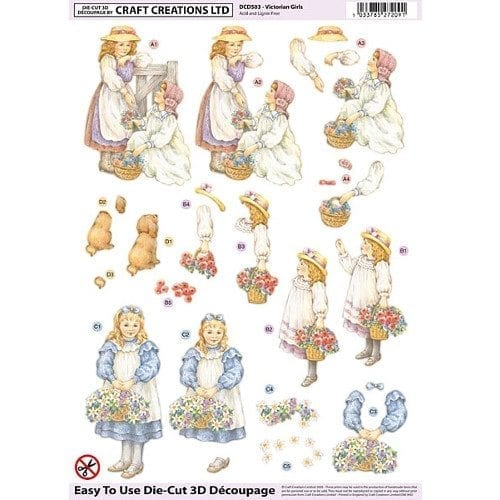 Craft Creations: Decoupage & Card Kits